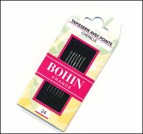 Bohin Embroidery Chenille Needles Size 24
