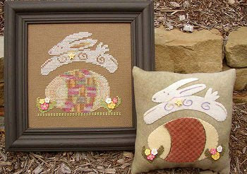 Doubles - Hip Hop Hare - Cross Stitch Pattern