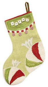 Stocking - Sugar Plum - Cross Stitch Pattern
