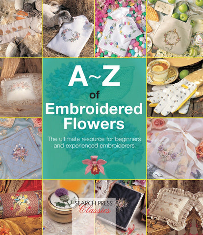 A-Z of Embroidered Flowers by Country Bumpkin
