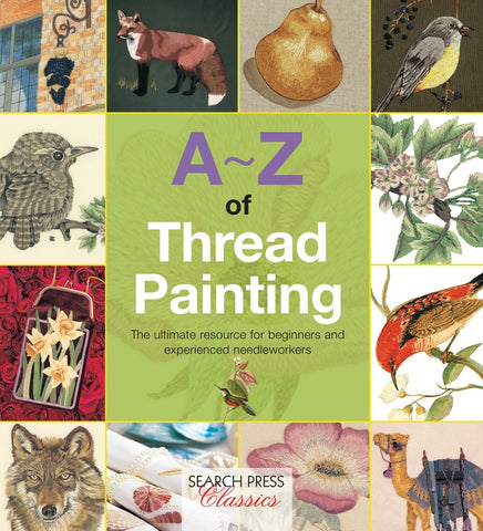A-Z of Thread Painting by Country Bumpkin