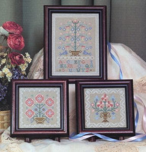 Mini Sampler Trio - Cross Stitch Pattern