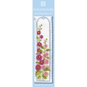 Hollyhocks Bookmark Kit
