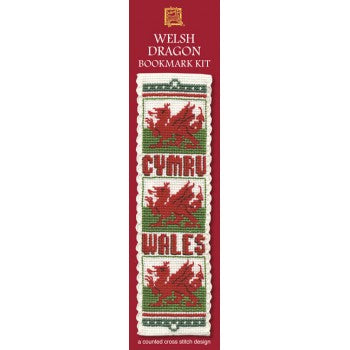 Welsh Dragon Bookmark Kit