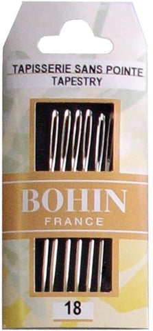 Bohin Tapestry Needles Size 18