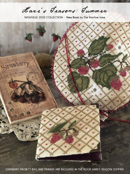 Hare's Seasons Book: Summer - Cross Stitch Pattern