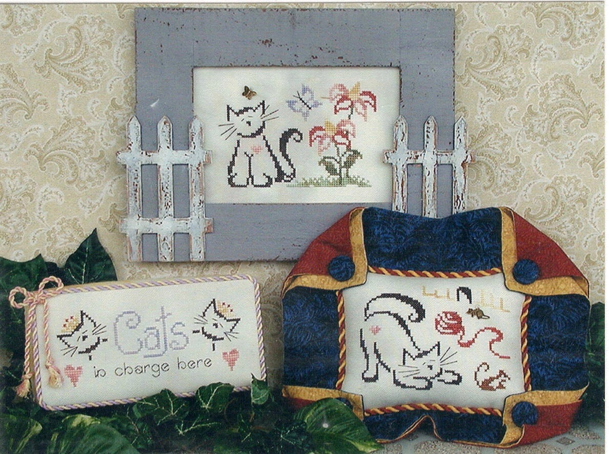 Britty Kitties II - Cross Stitch Pattern