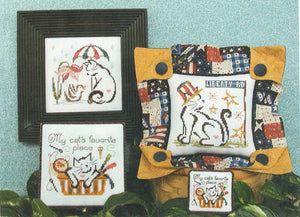 Britty Kitties III - Cross Stitch Pattern
