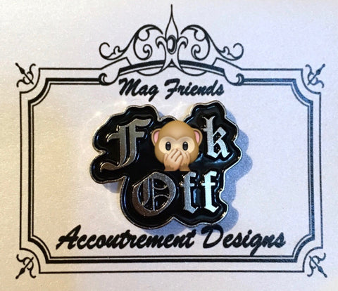 """F**k Off"" Needle Minder"