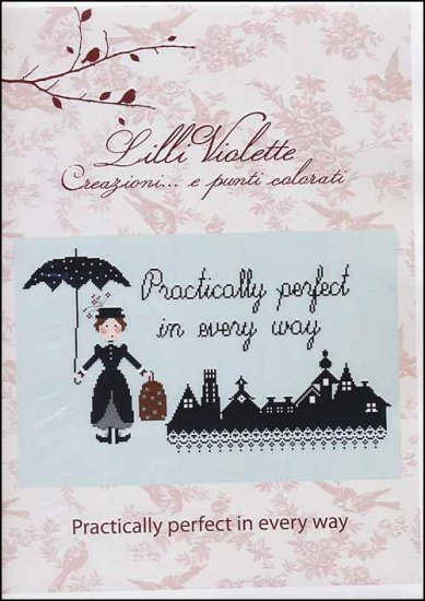 Practically Perfect in Every Way - Cross Stitch Pattern