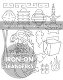 Chinatown Small Pack Embroidery Patterns