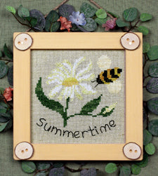 Seasonal Bitty Buttons #2 - Summertime