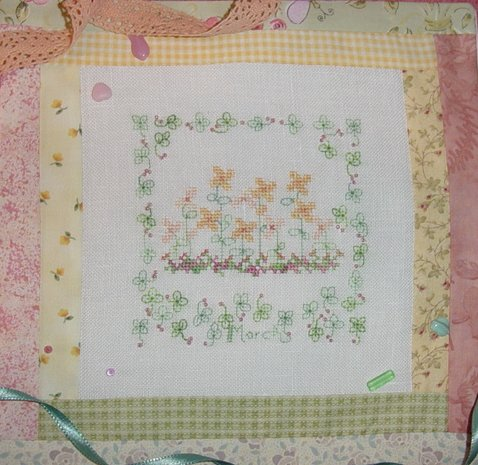 Country Garden in March - Cross Stitch Pattern