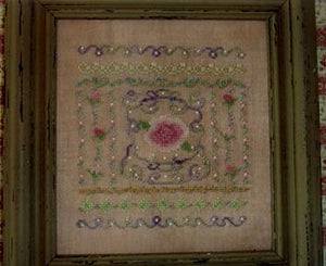 Pink Roses for Beauty and Grace - Cross Stitch Pattern
