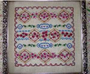 Ring Around The Roses - Cross Stitch Pattern