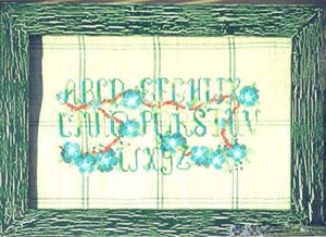 A Sampler in Silk and Flowers