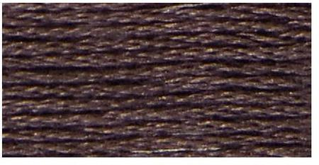 09 (Very Dark Cocoa) - DMC Embroidery Floss
