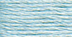 828 (Ultra Very Very Light Blue ) - DMC Embroidery Floss