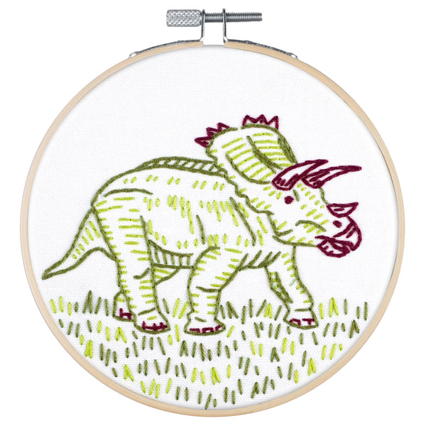 Dino-Mite Embroidery Kit