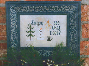 Do You See What I See - Cross Stitch Pattern