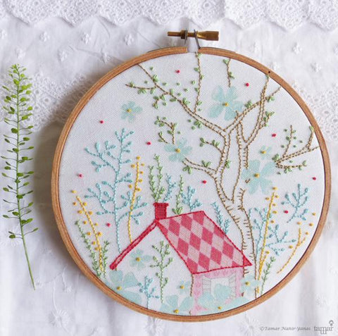 "Dream House 6"" Embroidery Kit"