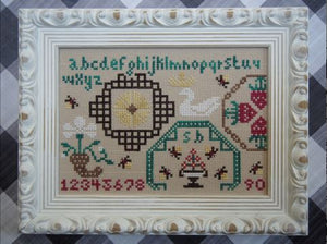Firefly Quaker (Design No. 30) - Cross Stitch Pattern