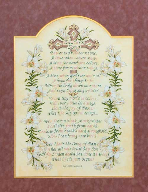 Easter's Song - Cross Stitch Pattern
