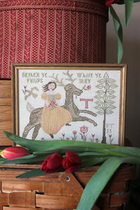 Gather Ye Tulips - Cross Stitch Pattern