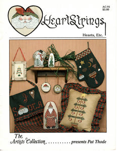 Heartstrings - Hearts, Etc. - Cross Stitch Pattern