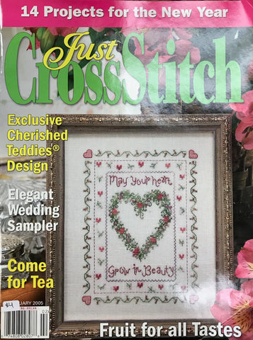Just CrossStitch - Volume 23, Issue 1 February 2005
