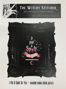 I Put a Spell on You - Cross Stitch Pattern