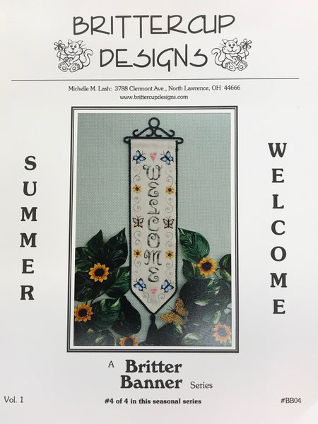 Britter Banner Series (4/4) - Summer Welcome