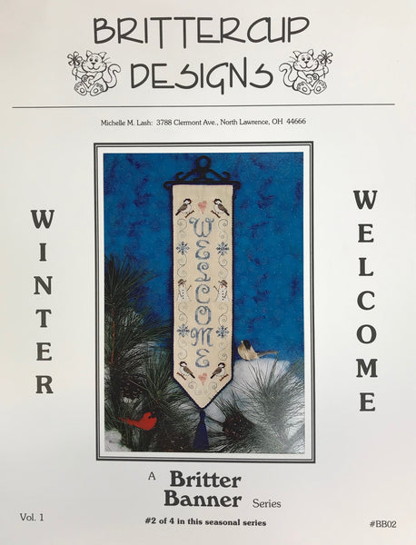 Britter Banner Series (2/4) - Winter Welcome