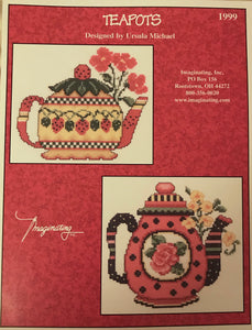 Teapots - Cross Stitch Pattern