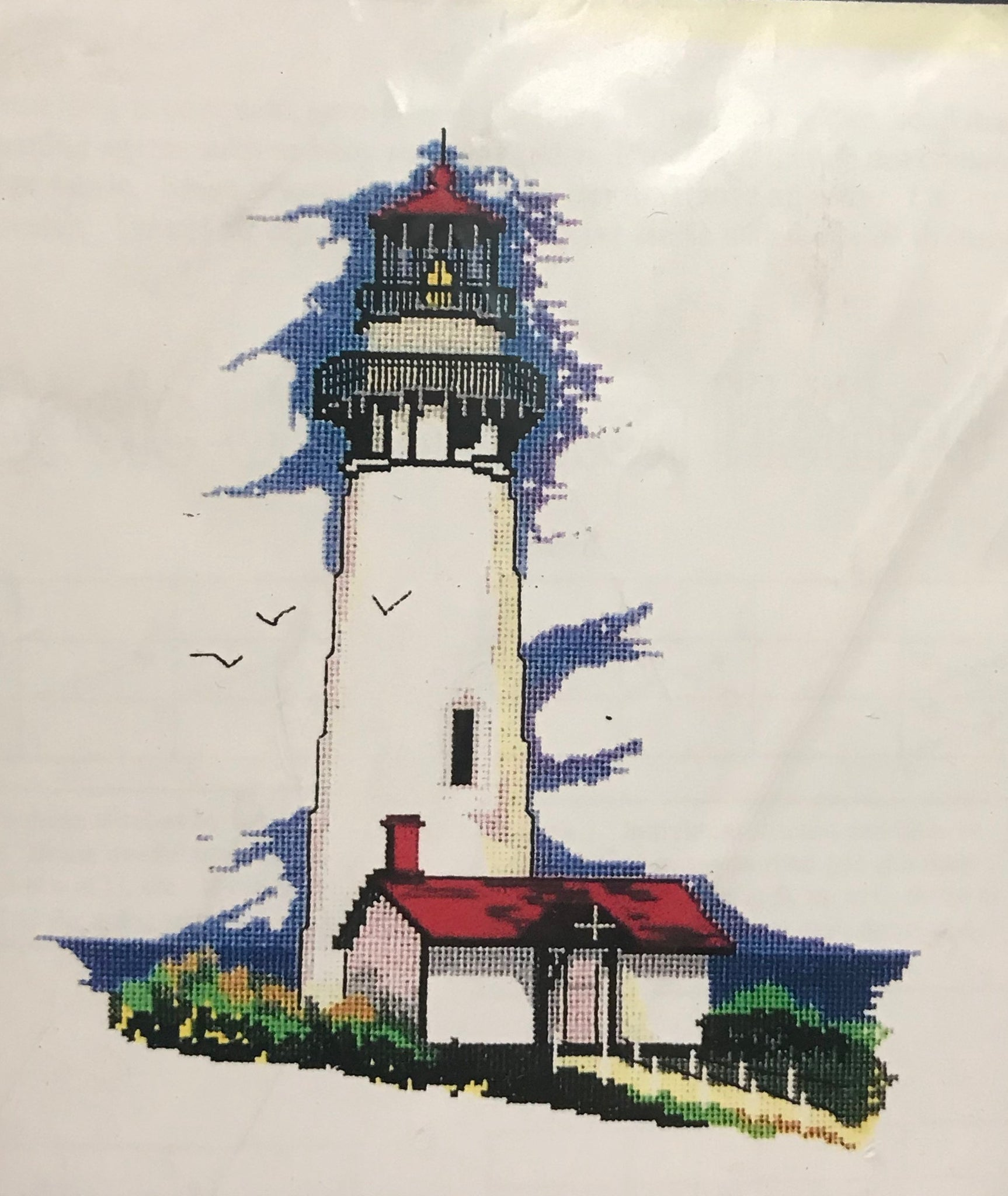 Yaquina Head Light - Cross Stitch Pattern