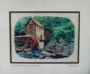 Glade Creek Grist Mill - Cross Stitch Pattern - The Starlight Stitchery