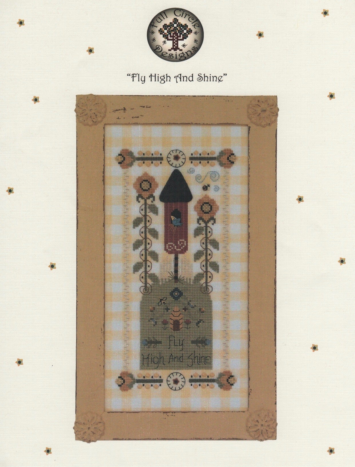 Fly High and Shine - Cross Stitch Pattern