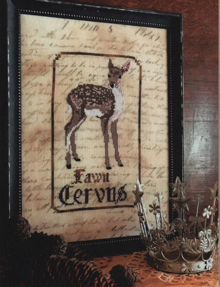 Spirits of the Woods - The Fawn - Cross Stitch Pattern