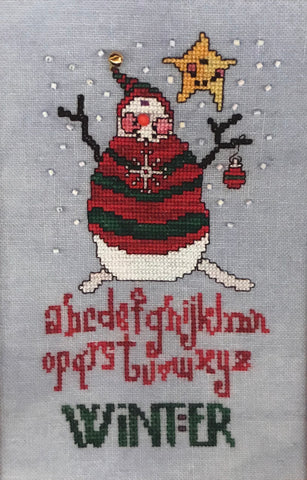 Winter Snowman Sampler