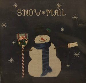 Snow Mail - Cross Stitch Pattern
