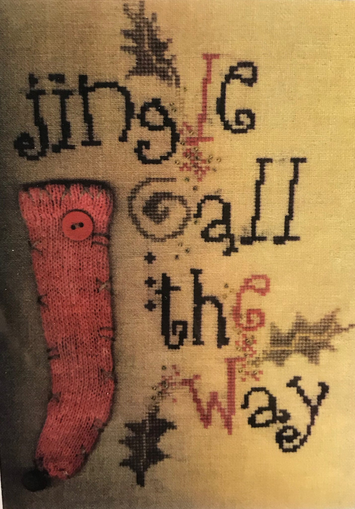 Jingle All the Way - Cross Stitch Pattern