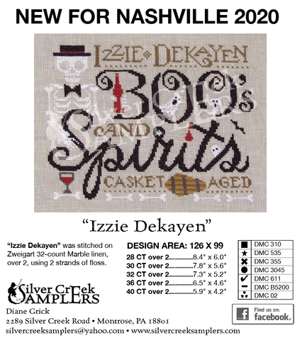 Izzie Dekayen - 2020 Nashville Exclusive