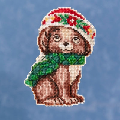 Puppy by Jim Shore (2019) Beaded Cross Stitch Kit