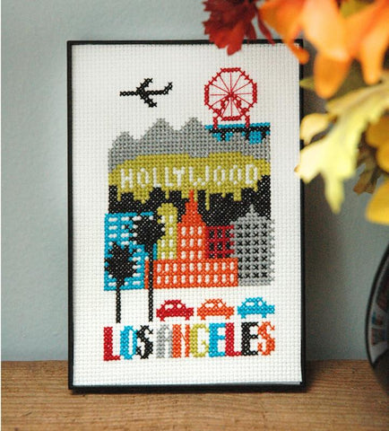 Los Angeles - Cross Stitch Pattern