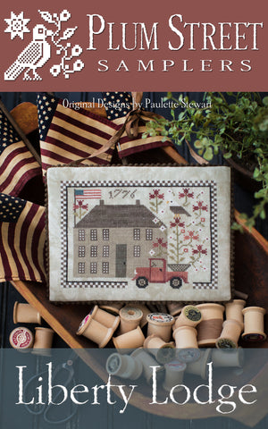Liberty Lodge - Cross Stitch Pattern