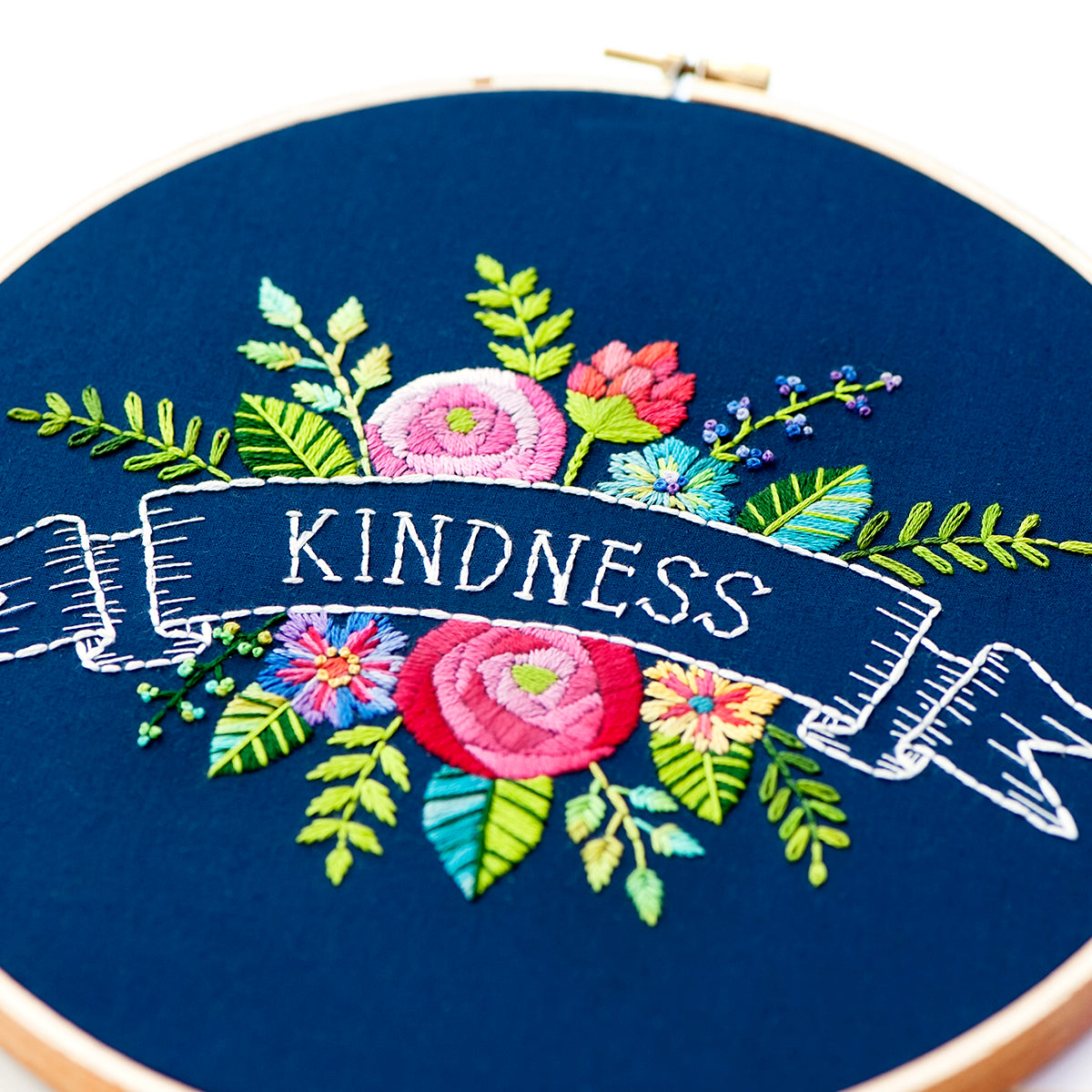 "One Meaningful Word 8"" Embroidery Kit"