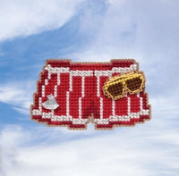 Swim Trunks Beaded Cross Stitch Kit