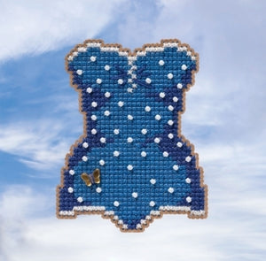 Swimsuit Beaded Cross Stitch Kit