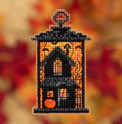 Autumn Harvest Collection - Moonstruck Manor Beaded Cross Stitch Kit