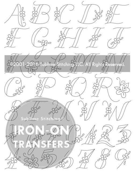 Monograms Small Pack Embroidery Patterns